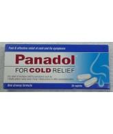 Panadol For Cold 12 Caplets