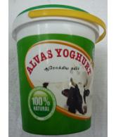 Alvas Yoghurt Curd 1L