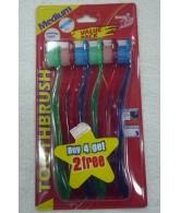 Tooth Brush (Buy 4 Get 2 Free)